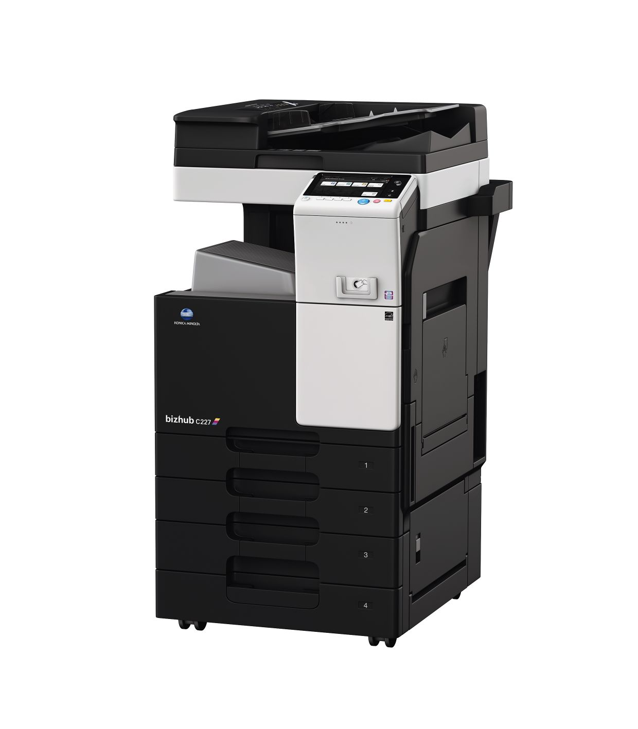 bizhub c227 color multifunction copier purchase or lease;Gulf Office  Technologies Sarasota Manatee St.