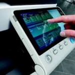 Copier Rental Touchscreen